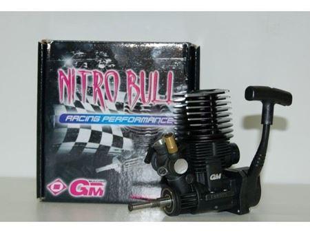 Immagine di GM Racing - Motore a Strappo Nitro Bull 15 2,5 ccm