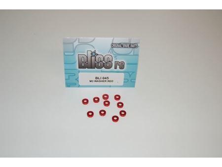 Immagine di BlissRC - Rondella Conica 3mm Rossa