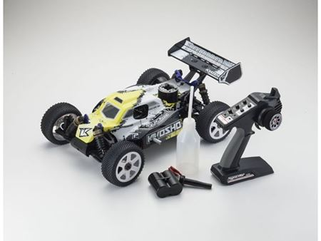 Immagine di Kyosho - Automodello a scoppio 1:8 GP 4WD New inferno neo 2.0 readyset T3