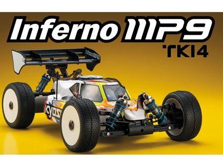 Immagine di MP9 TKI4 -Kyosho - Automodello INFERNO MP9 TKI4 2016 (kit)