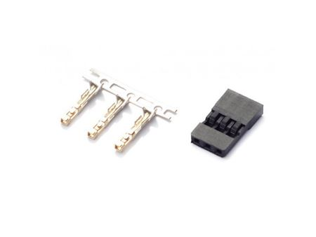 Immagine di Spinetta Maschio tipo JR con plastica + connettori (Pz.10)