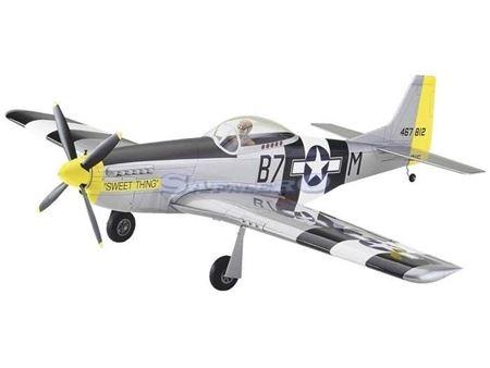 Immagine di Great Planes - MUSTANG P 51 .40 balsa kit