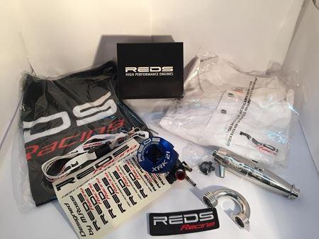 Immagine di Reds Racing XRK21K - Motore off road  1/8 by M.Rossi Con Marmitta Ninja efra 2053
