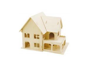 Immagine di 3Dino - Casa Dolce Casa  Puzzle 3D, in Legno Naturale