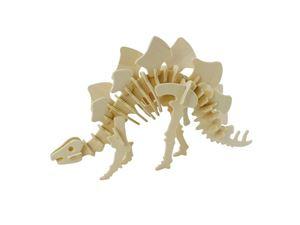 Immagine di 3Dino - Stegosauro Puzzle 3D, in Legno naturale