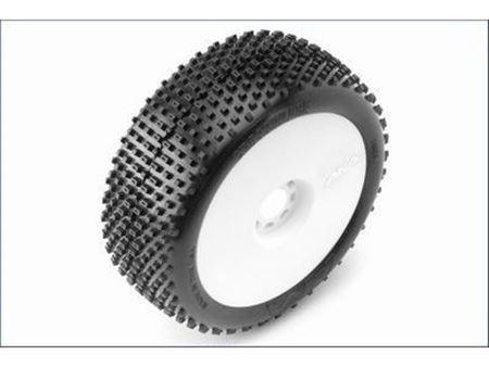 Immagine di AKA - Coppia di gomme 1:8 Buggy CROSSBRACE Soft incoll. cerchi EVO (2)( Lunga Durata)