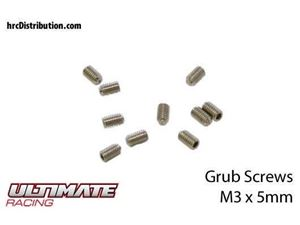 Immagine di ULTIMATE RACING - Grani  M3 x 5mm (10 pz.)