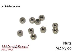 Immagine di ULTIMATE RACING - Dadi Autobloccanti Nylon M2 (10 pz.)