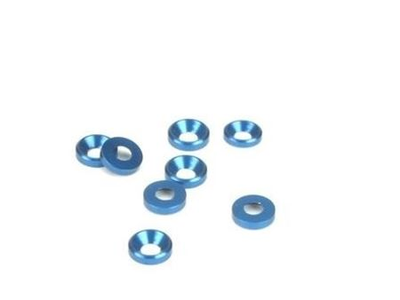 Immagine di BlissRC -  Rondella Conica 3mm Blu (Pz.8)