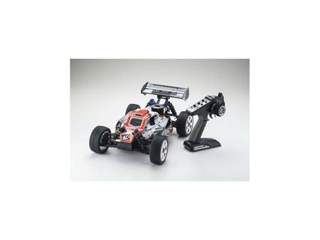 Immagine di Kyosho - Automodello a scoppio 1:8 GP 4WD New inferno neo 2.0 readyset (Bianca-Rossa)