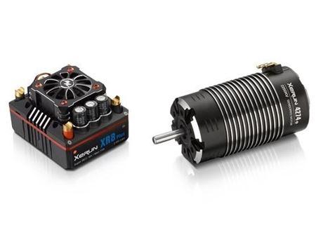 Immagine di HobbyWing - Combo Regolatore  XeRun XR8 Plus 150A + XeRun 4268 SD G2 Sensored Brushless Motor (1900kV)