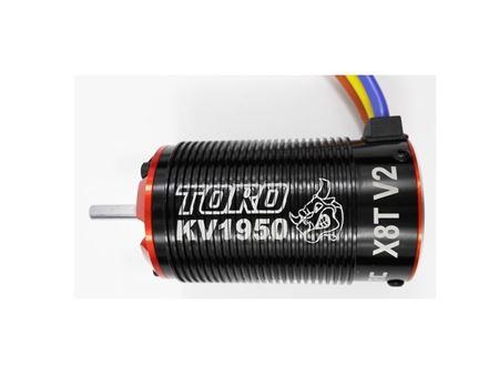 Immagine di SKYRC -  TORO X8T V2 Series Sensorless Brushless Motor  for 1/8 (KV1950)