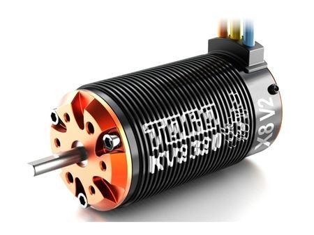 Immagine di SKYRC -  TORO X8 V2 Series Sensorless Brushless Motor  for 1/8 (KV2150)