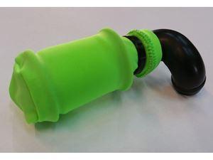 Immagine di Coprifiltro elastico Verde Chiuso per filtro aria HB D812-D815-D817 e Team Losi