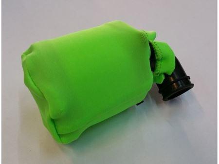 Immagine di Coprifiltro elastico verde Chiuso universale per filtro aria  off road 1/8
