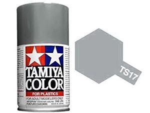Immagine di Tamiya - Smalto spray TS-17 Alluminio Lucido 100 ml