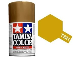 Immagine di Tamiya - Smalto spray TS-21 Gold 100 ml