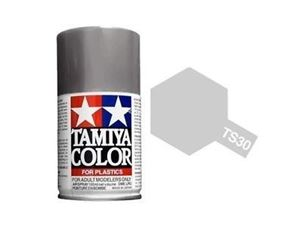 Immagine di Tamiya - Smalto spray TS-30 Silver Leaf 100 ml