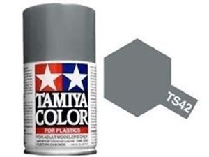 Immagine di Tamiya - Smalto spray TS-42 Light Gun Metal 100 ml