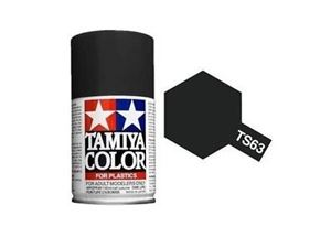 Immagine di Tamiya - Smalto spray TS-63 NATO Black 100 ml