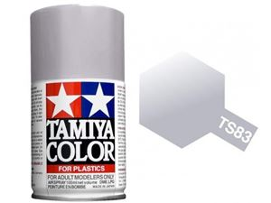 Immagine di Tamiya - Smalto spray TS-83 Metallic Silver 100 ml