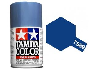 Immagine di Tamiya - Smalto spray TS-89 Pearl Blue 100 ml