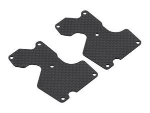 Immagine di Ricambi Mugen MBX8 - Inserti in Carbonio Bracci Posteriori (1mm)