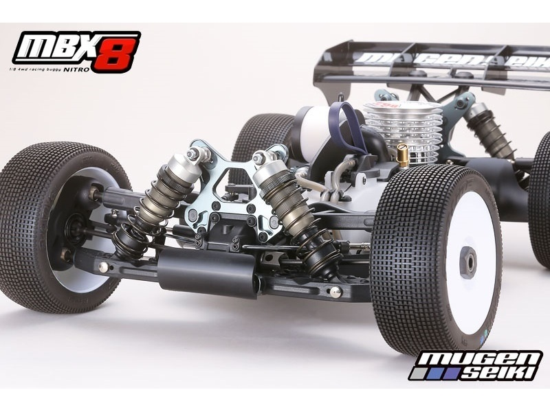 Mugen MBX8 1/8 Racing Buggy incluso Motore TEAM ORION CRF 21 3 Ports e  Marmitta CRF EFRA 2149