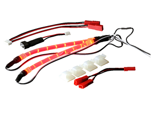 Immagine di 201000212 - Ansmann Racing LED - Striscia led Rosso