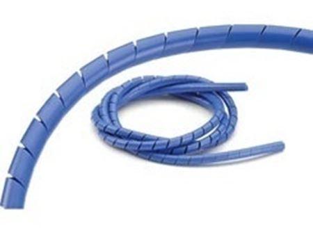 Immagine di Ansmann Copritubo a Spirale 1.5mm 1 mt BLU 186000040