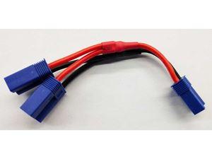 Immagine di Cavo Y 100mm 14AWG connettori EC5 parallelo