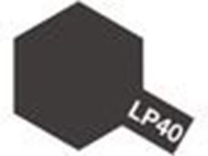 Immagine di Tamiya lacquer Paint Metallic black LP40
