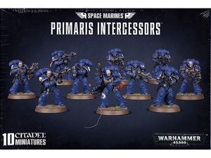Immagine di Games Workshop 99120101190 Space Marines Primaris Intercessors kit in plastica