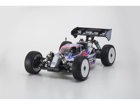 Immagine di Kyosho Inferno MP10 1/8 Buggy RC a scoppio 2019 (kit) 33015B Incluso Motore Novarossi S21P5XLT