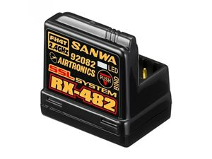 Immagine di Sanwa - RICEVENTE SANWA RX CAR 482 FHSS-4, SSL 4CH con Antenna
