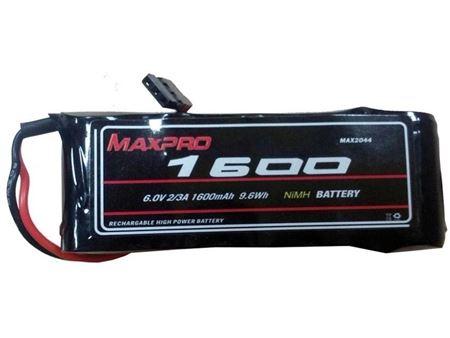 Immagine di MAXPRO PACCO BATTERIE NIMH 6V 1600MAH IN LINEA MAX2044