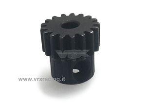 Immagine di Pignone in METALLO 17 Denti Modulo 0.6 1/10 VRX 10520
