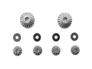 Immagine di Ricambi Carrara RRZ9  Ingranaggi differenziale set Z81011