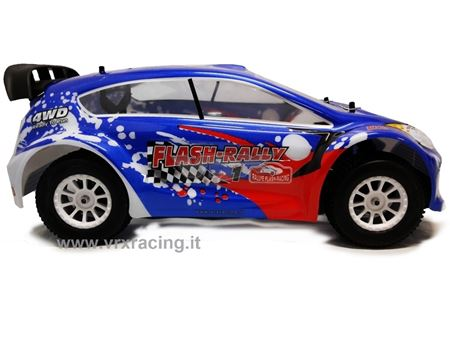 Immagine di Flash-Rally XR4 EBL Brushless on-road Radio 2.4 Ghz Fly Sky Lipo 7,4V 1/10 RTR 4WD