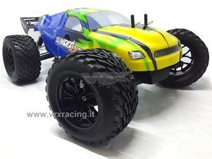 Immagine di Truggy XXX Sword off road 1/10 motore elettrico Brushless Radio 2.4ghz RTR 4WD con telaio in metallo VRX