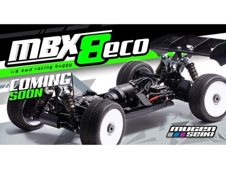 Immagine di Mugen MBX8 1/8 Off-Road BUGGY  4WD ECO PRO KIT [MG-E2022 ]
