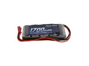 Immagine di Gens ace-RX Pack NiMh 6.0V-1700 (Dual JR-JST plug) Straight