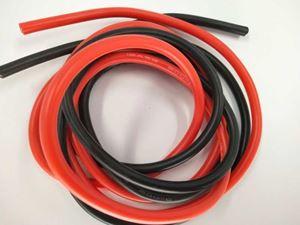 Immagine di Cavo silicone 12AWG (1m rosso+1m nero) 3,31mm²