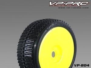 Immagine di VP Pro - Coppia gomme Turbo Trax incollate su Cerchio Giallo (Ultra Soft)