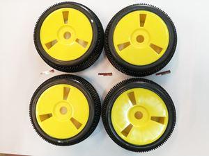Immagine di VP Pro - Treno gomme incollate su cerchi Gialli