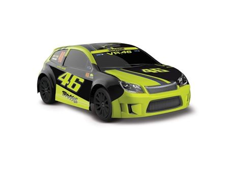 Immagine di Traxxas-LATRAX RALLY 1:18 VR46  4x4 2.4GHz waterproof RTR