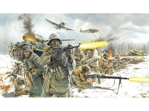 Immagine di Italeri German Infantry (Winter uniform) (Kit di Montaggio) -6151 - Scala 1 : 72