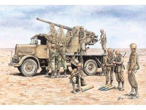 Immagine di Italeri AUTOCANNONE 3RO with 90/53 AA GUN - FAST ASSEMBLY (Kit di Montaggio) 7508 - Scala 1 : 72