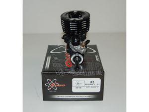 Immagine di Motore Sirio X3 CRF 3 TRAVASI CON TESTA RIBASSATA CUSCINETTO IN CERAMICA
