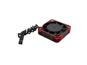 Immagine di Ventola in alluminio 30x30 per ESC e motore Red